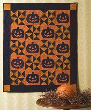 Black Jacks Wall Quilt ~ pleeeeez Mom???: Jack Quilts, Pumpkin Quilts, Halloween Quilts, Jack Halloween, Wall Quilts, Fall Harvest Halloween, Keepsake Quilts, Quilts Kits, Halloween Wall