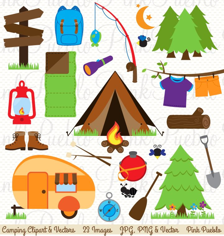 bear camping clipart - Google Search