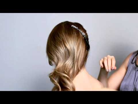 The Side Sweep Hairstyle by Colette Malouf thecmway