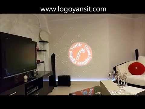 Logo Yansıt İç Ortam MY English Language School Dönen Logo ve Lazer - YouTube