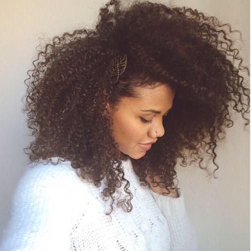 Natural Big Curly Hair