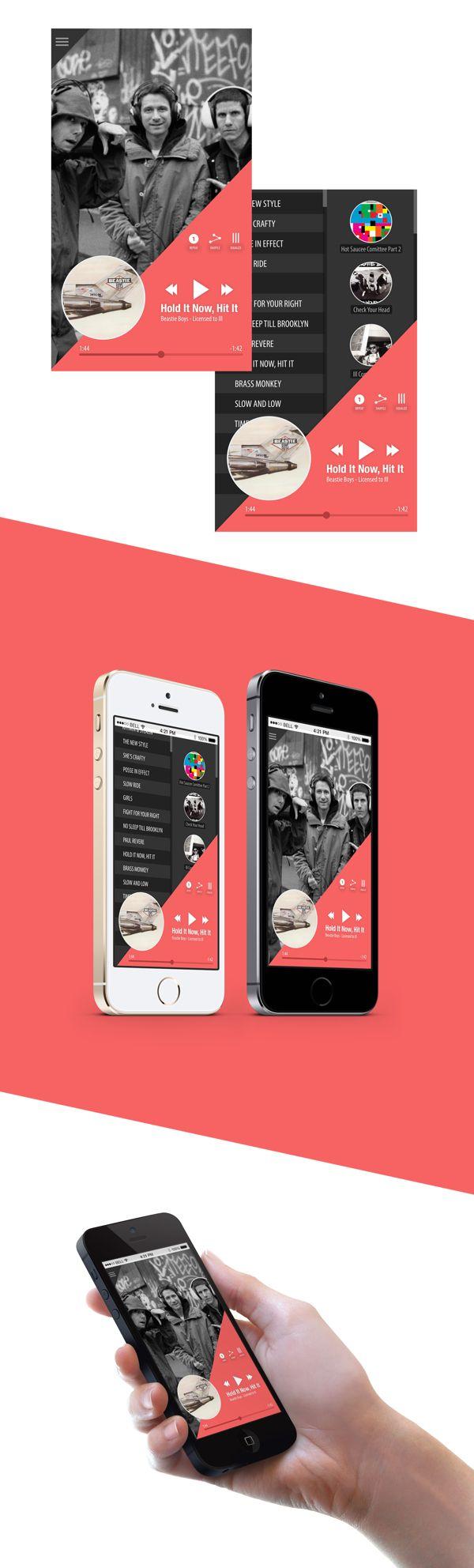 UI Design | Music Player on Behance