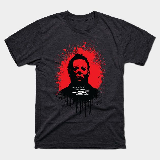 Halloween by fimbis     Michael Myers, horror, art, scary movies, illustration, blood, movie poster, dark, tees, t-shirt, apparel,
