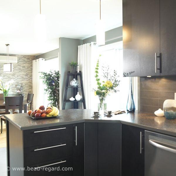 Armoire en bois plaqué, modèle d'armoires de cuisine, placage de bois http://amzn.to/2jlTh5k