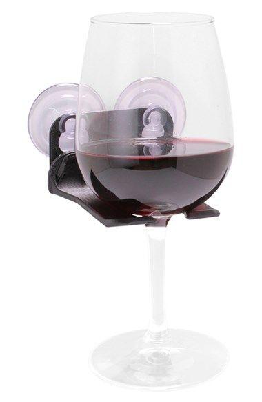 WaveHooks Bathtub Wine Glass Holder available at #Nordstrom