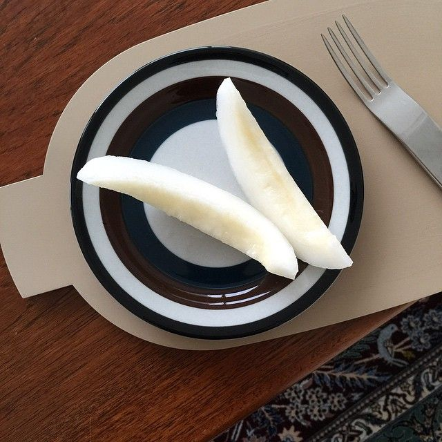 Bold Stripe. #davidmellor #minimal #cutlery #moderntable #modernism #tablesetting #flatware #minimalism
