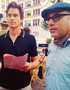Matt Bomer & Willie Garson #WhiteCollar