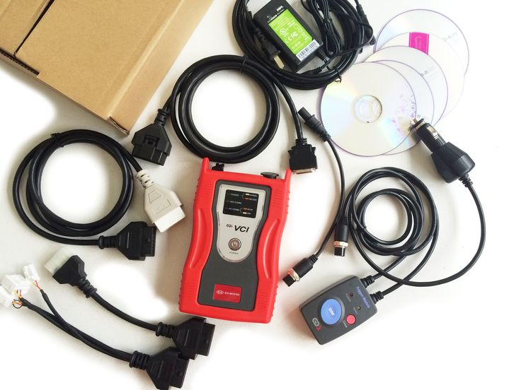 www.OBD2Buy.com GDS VCI Diagnostic Tool for Kia & Hyundai (RED) with Tigger Module