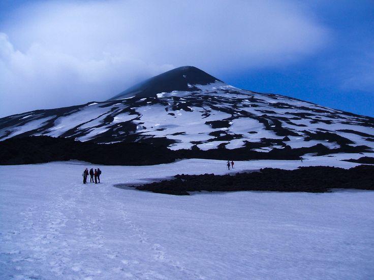 Etna sous la neige!