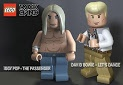 Lego Rock Band - David Bowie (Let's dance) and Iggy Pop (The passengers)