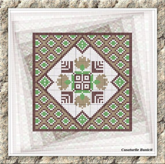 Square cross stitch pattern square cross by CamisTheCrossStitch