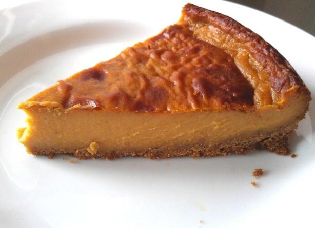 "Pumpkin ""Cheese"" Cake | Cheese Cakes, Vegan Pumpkin and Pumpkins"