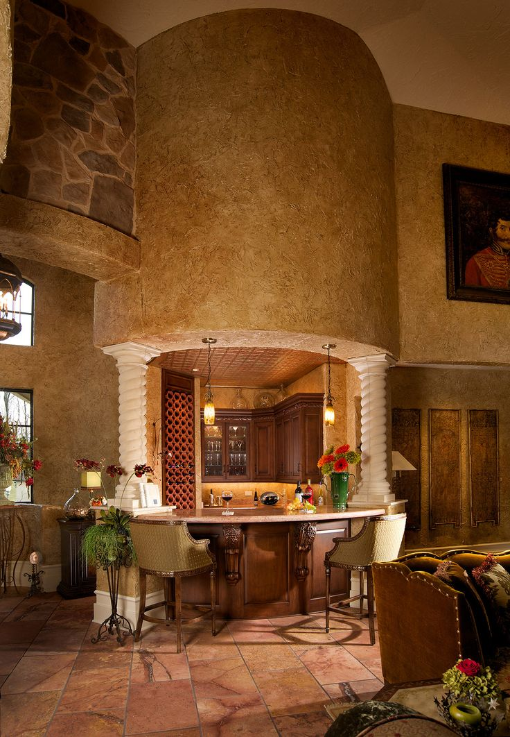 17 best images about bar on pinterest mediterranean kitchen bar and basement kitchenette - Custom bar design ...