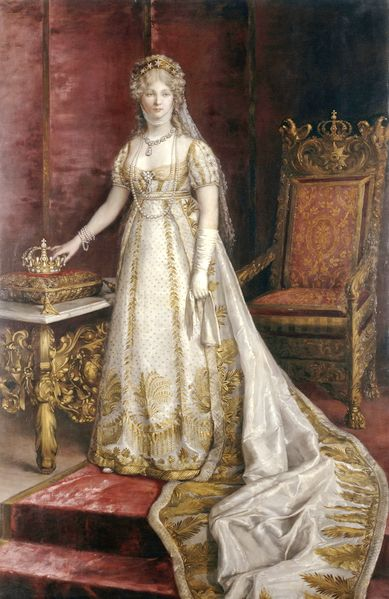 "Louise of Prussia, whom Napoleon referred to as ""The only man in Prussia."""