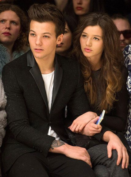 louis and eleanor topshop fashion show | Photos: One Direction's Louis takes his GF to London Fashion Week