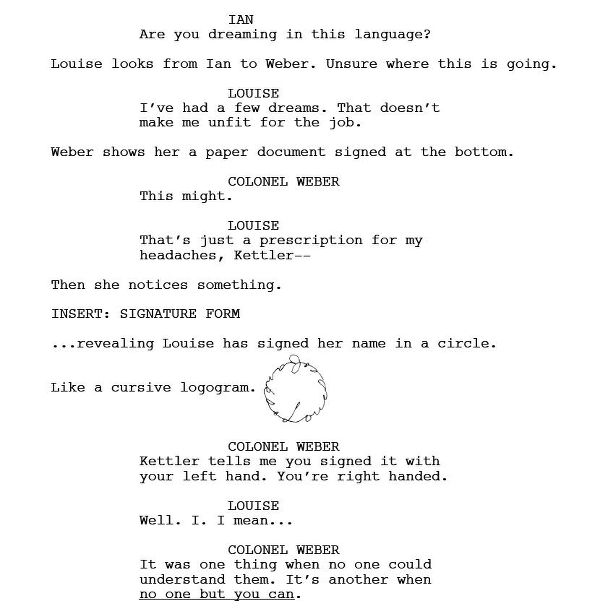 Screenplay Cover Letter How I Wrote Arrival (and What I Learned Doing It)
