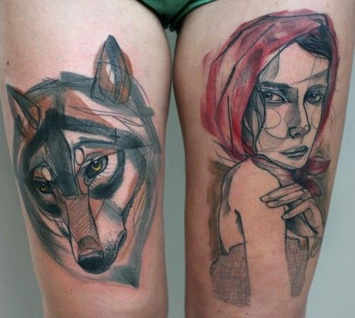 sketch style tattoo - Google Search