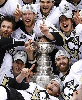 2009 Stanley Cup winners - Pittsburgh Penguins