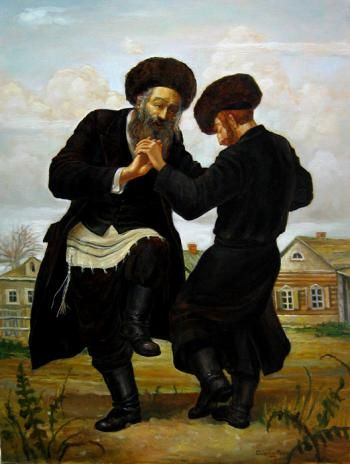 Jewish men dancing & showing their joy to God. ~Repinned Via Aviva Thaler