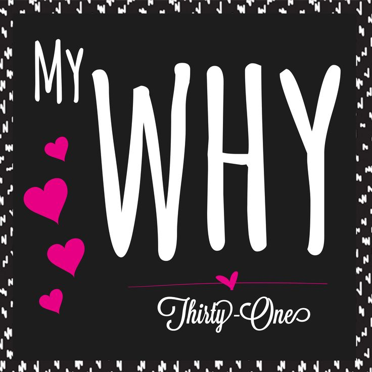 """My Thirty-One """"why"""". This is such an important story to tell in your VIP group and online/Facebook parties."""