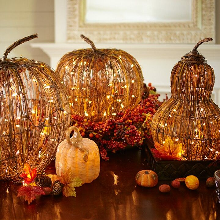 pier one imports pretty fall decorations - Fall Harvest Decor