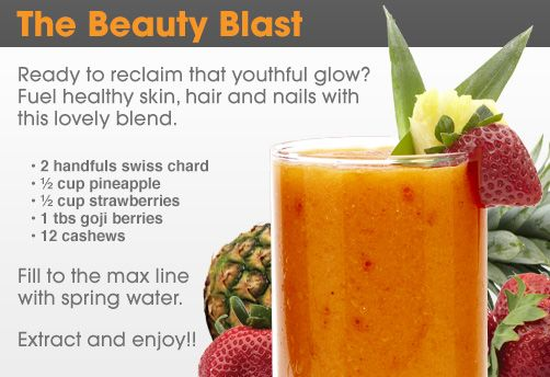 A delicious, healthy drink with a tropical taste to keep you feeling and looking great this holiday season!