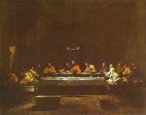 Nicolas Poussin - Le Dernier Souper