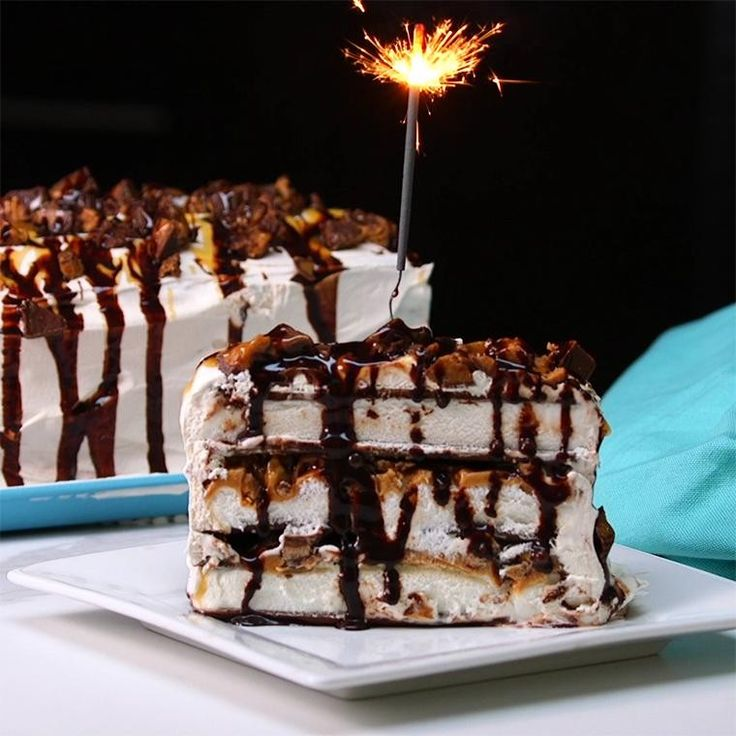 Reese's Ice Cream Cake Will Get Your Party Started! - Shared
