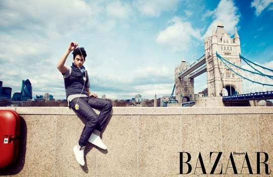 Kim Soo Hyun in Harper's Bazaar Korea May 2012