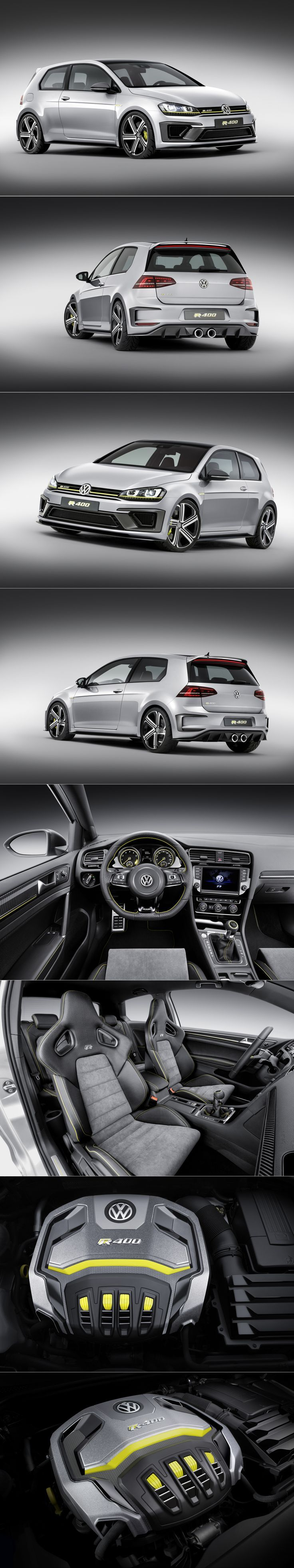 Best Dubai Luxury And Sports Cars In Dubai: The VW 400 PS GOLF R 400 SPORTS CAR CONCEPT (RUMORED FOR PRODUCTION)
