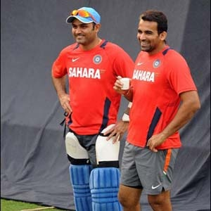 Opener Virender Sehwag and pace spearhead Zaheer Khan on Wednesday returned to the Indian cricket team after recovering from injuries even as senior batsman Sachin Tendulkar decided to skip the limited overs tour of Sri Lanka starting July 21.
