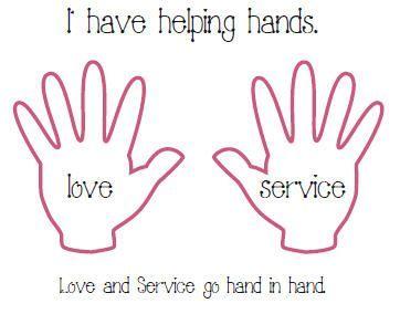 Helping Hands Craft Sunday School