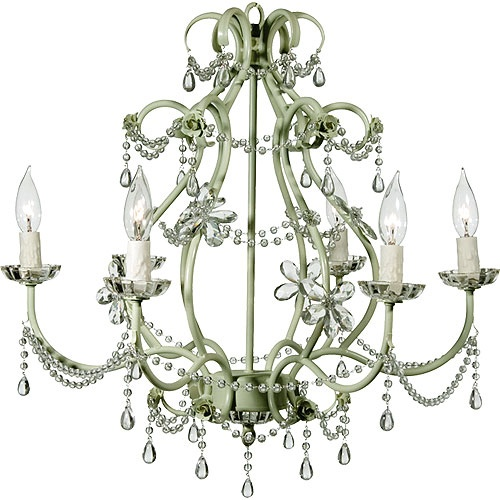 sage bedroom chandelier