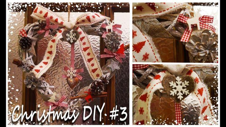 ❄️☃️🎄🎅Christmas DIY #3 | Christmas Garland | FairyWorld84 🎅🎄☃️❄️