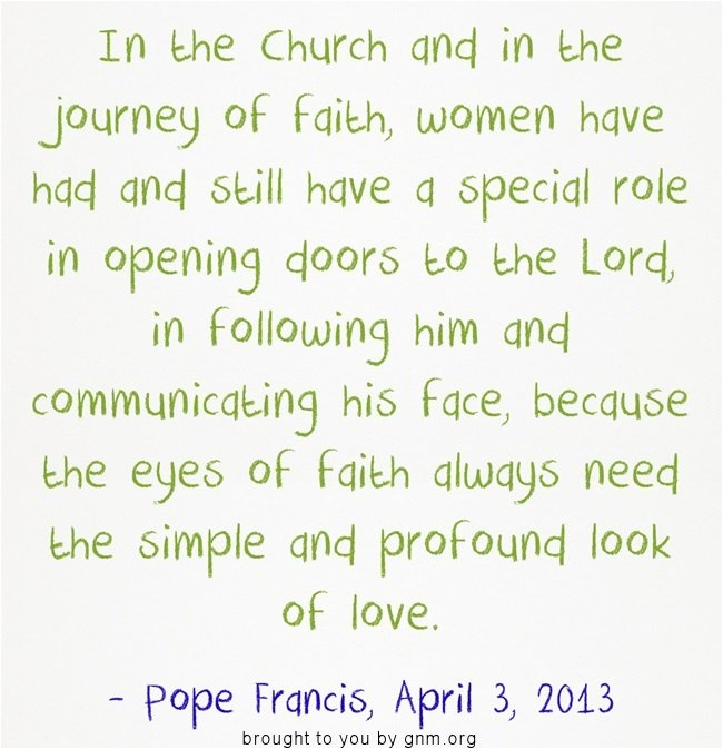Quotes On The Role Of Women: 17 Best Images About Pope Quotes On Pinterest