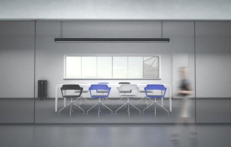 Aranżacja sali konferencyjnej  #elzap #meblebiurowe #meble #krzesło #stół #lampa #krzesła #design #moderndesing #modern #chair #chairs #table #lamp #interior #wnętrze #inspiration #architecture #furniture #furnituredesign #furnitures #furnitureforhome #katowice #warszawa #krakow #meblepolska