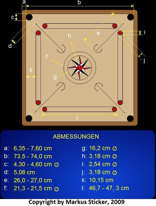 Carrom Board building