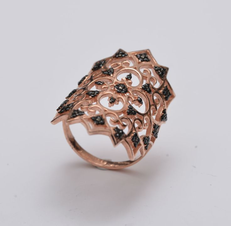 A personal favourite from my Etsy shop https://www.etsy.com/listing/279970648/elegant-lace-ring-silver-lace-ring