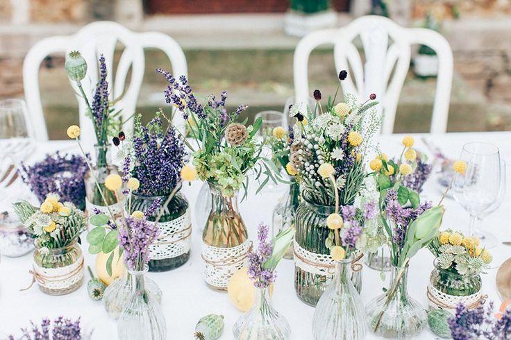 Hochzeitsinspiration mit Lavendel
