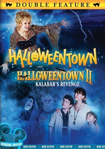 Now watching on the Disney Channel: Halloweentown 2. Love this movie. Not as much as the first but I still love it.