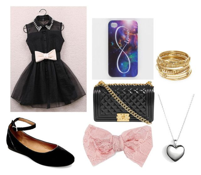 """""""Semi-casual semi-formal outfit"""" by tyanna624 on Polyvore featuring Ankit, Steve Madden, Decree, ABS by Allen Schwartz and Pandora"""