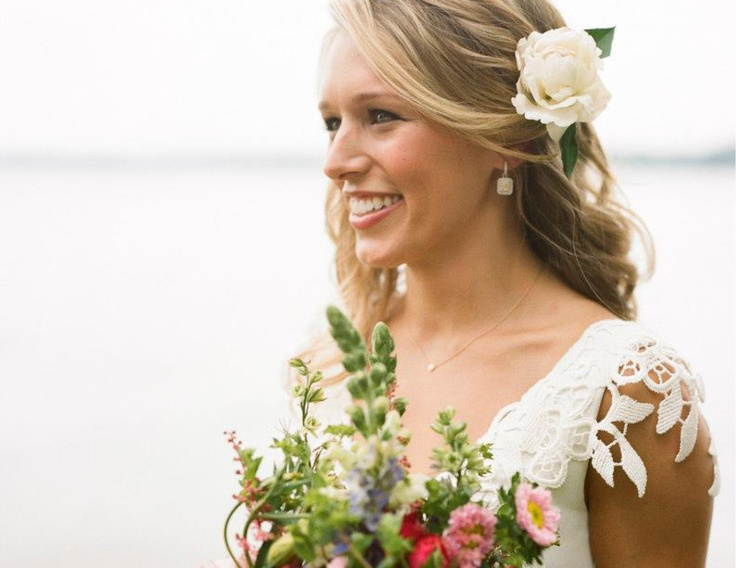 Beautiful natural wedding day make-up look #CelineRussell #MarieeAmi #Weddings