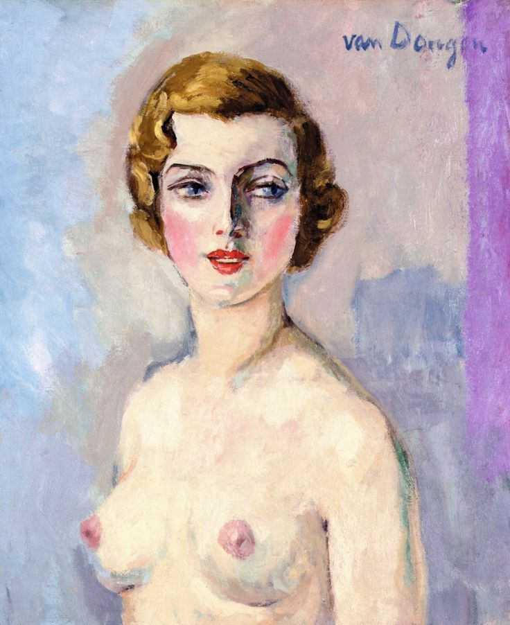 The Athenaeum - Female Nude (Kees Van Dongen - circa No dates listed)
