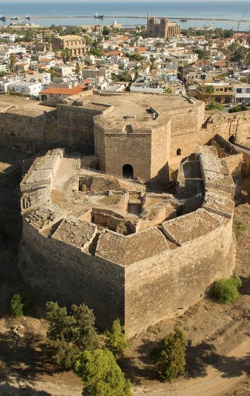 Othello Castle, Famagusta, Cyprus