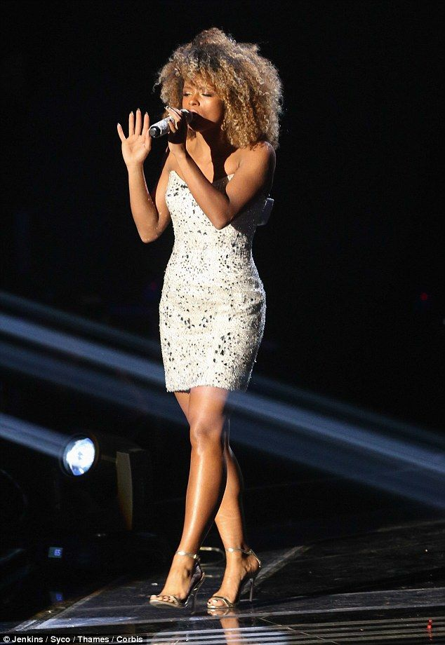 Pay back time: Fleur East says she's in it to win it with this weekend's X Factor final, a...