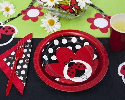 Ladybug Picnic Birthday Party