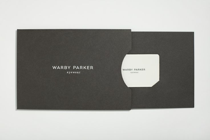 Warby Parker Gift Card Packaging - High Tide