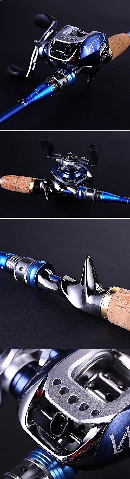 Fishing Reels - Baitcasting Combos 179954: 2 Ps Baitcasting Fishing Rod With Fishing Reel Combos (Right) -> BUY IT NOW ONLY: $117.95 on eBay!