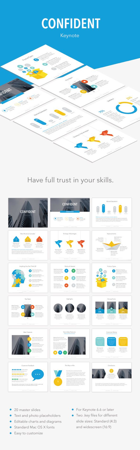 Confident Keynote Template #slides Download here: http://graphicriver.net/item/confident-keynote-template/14574388?ref=ksioks