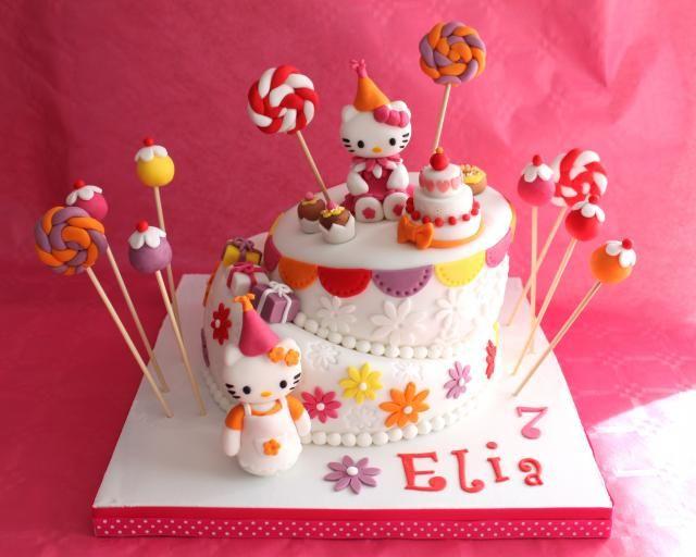 Gâteau pour l'anniversaire de ma fille :), Recette de Gâteau pour l'anniversaire…